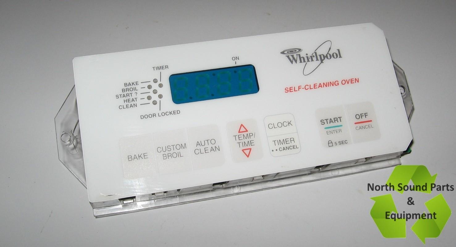 Whirlpool Range Control Board - 3196244 (NSPE)
