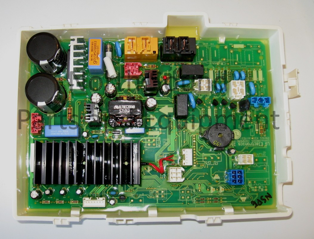 LG Washer Board, Front
