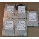 500GB HDD Lot of 5 Hitachi 0296
