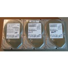 500GB HDD Lot of 3 Hitachi 0590