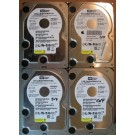 320GB HDD Lot of 4 WD 1836
